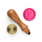 DesignOD Wax Seal Stamp - Headline Letters - E