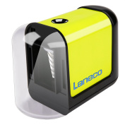 Electric pencil sharpener, Laneco Battery Operated Heavy Duty Helical Blade Pencil Sharpener for Classroom, Office, School, Kids, Teachers, Artists and Adults