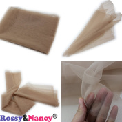 Rossy & Nancy 1/2 Yard Medium Brown Lace for making or ventilating lace wig cap Lace Front or Full Lace Wig Base