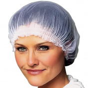 (Set/4) Ruffle Caps - Comfortably Keep Your Hairstyle In Place As You Sleep