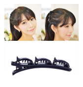 iHome Fusion Double Layer Hair Clip Triple Layer Hair Clip Hair Twist Braid Accessories Styling Tool