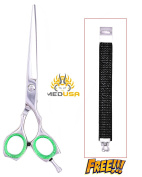 Professional 15cm Polish Japanese Stainless Steel Barber Razor Edge Hair Cutting Shear Scissor With Free Bracelet