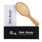 Valdler Professional Handmade Natural Wooden Air Bag Massage Comb Hair Brush for Gift
