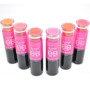 SANTEE 6 colour SUPER MAGIC BB Cream Formula Blush Bronzer Stick Pink Red Orange + FREE EARRING