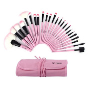 Vander 22pcs Professional Soft Cosmetic Eyebrow Shadow Makeup Brush Set Kit Case