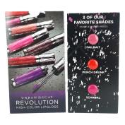 U/D Revolution High_Color Lip Gloss Sample Card 3 x 0ml