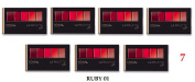 (Pack of 7) - VALUE PACK! - L'Oreal Paris LA PALETTE Lip, 01 Ruby