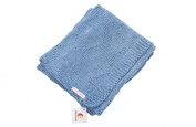 Knitted blankets (Blue)
