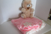 NEW BORN BABY BLANKET AND BONNET
