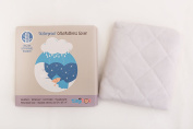 Crib Mattress Protector - Organic Bamboo Fibre Fitted Cover, Waterproof, Hypoallergenic, Highly Absorbent