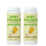 Little Twig Baby Powder 100% Talc Free with Natural Ingredients , 130ml