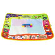 Euone Children Aqua Doodle Drawing Toys Mat Magic Pen Educational Toy