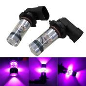 Car Light,Tuscom@ 2X H10 9005 9006 100W 20LED HID 2323 Fog Driving DRL Light Bulbs