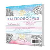 Hunkydory Crafts Kaleidoscopes Floral Colouring Card Kit KALFLOR101