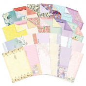 Hunkydory Fabulous Florals Luxury Inserts & Background Papers for Cards