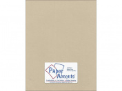 Accent Design Paper Accents ADP8511-5.8838 Pearlized 22cm x 28cm Taupe Cardstock