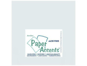 Accent Design Paper Accents ADP1212-25.896 No.80 30cm x 30cm Nickel Paper Pearlized Card Stock