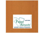 Accent Design Paper Accents ADP1212-25.886 No.80 30cm x 30cm Copper Paper Pearlized Card Stock