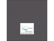 Accent Design Paper Accents ADP1212-25.855 No.80 30cm x 30cm Onyx Paper Pearlized Card Stock