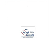 Accent Design Paper Accents ADP1212-250.128 No.65 30cm x 30cm White Bulk Smooth Card Stock