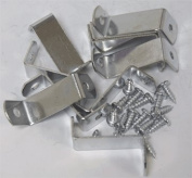 3.2cm Offset Clips 100 Pack With Screws