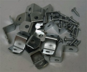 1.3cm Offset Clips 100 Pack With Screws