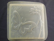 Welcome Butterfly Stepping Stone Concrete or Plaster Mould 1324