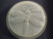Patchwork Dragonfly Stepping Stone Concrete or Plaster Mould 1320