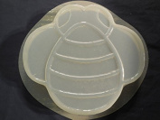 Huge Bumble Bee Stepping Stone Mould 1316