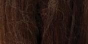 Brand New Natural Wool Roving .90ml-Chocolate Brand New