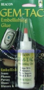 Beacon Gem-tac Permanent Adhesive Glue 60ml For Rhinestones, Crystals