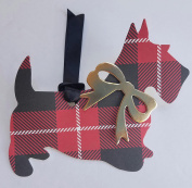 Holiday Gift Tags Dog Theme Scotties