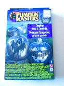 Pumpkin Masters Crackle Paint and Stencil Kit - Ghost & pumpkin face Stencils by Pumpkin Masters