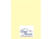 Accent Design Paper Accents ADP8511-5.935 22cm x 28cm Light Yellow Vellum