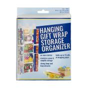 S & T 583601 Hanging Gift Wrap Storage Organiser