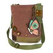 Butterfly Patch Crossbody Bag