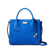 Kate Spade Elsie Street Exotic Leather Small Meriwether Satchel, Orbital Blue