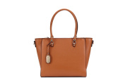 "Authentic Brangio Italy | Laser Clean Cut ""Badgerana"" Fashion Handbag RA2168"