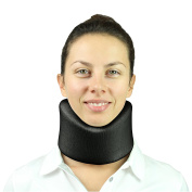 Neck Brace by Vive - Best Soft Cervical Collar for Neck Pain Relief - Soft Support Brace for Severe Back & Spine Pain, Sore Stiff Necks, Strains & Pinched Nerves - Medical Support Collar for Sleeping