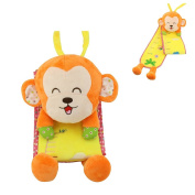 Daisy Best Gift Cartoon Animals Plush Height Measurement Growth Chart for Baby Kids Early Educational Height Ruler Toy - Monkey