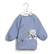 Baby Cute Saliva Towel Art Smock With Sleeves By PetsMostHome