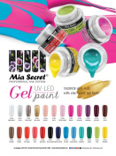 Mia Secret Nail Gel UV LED Paint 25 Colour Availible NEW!!