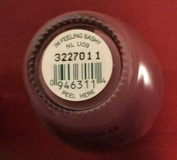 I'm Feeling Sashy NL U09 Nail Polish Lacquer .150ml 1 Bottle