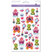 SS057E 3D GEL FOIL STICKER-FAIRY TALE