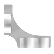 Beard Shaping Tool for Men, Stainless Steel Beard Styling Tool with Comb by,New