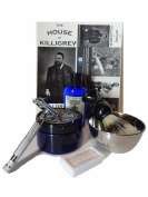 Cardinham Killigrew Shave Set - Shave set for men mens gift mens razor shaving gift