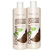 Nature Well Coconut Oil Body Wash (710ml, 2 ct.) by Naturewell