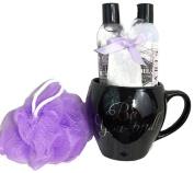 Lila Grace Lavender Mug Bath Gift Set