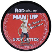 Man Up Body Butter 240ml by Rad Soap Co.