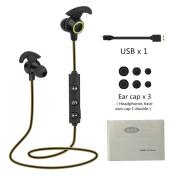 Sunfei Bluetooth Headphones,Bluetooth 4.1 Wireless Headphone Stereo Sports Earbuds In-Ear Headset